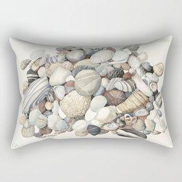 Sea shore of Crete Rectangular Pillow