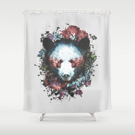 Warrior Shower Curtain