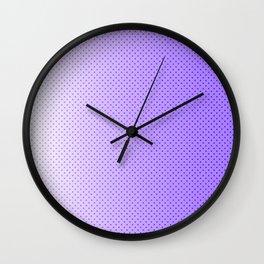 Ultra Violet Light Wall Clock