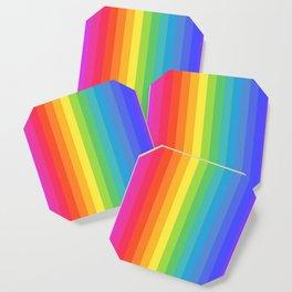 Solid Rainbow Coaster