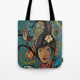 Wahine #4 Tote Bag