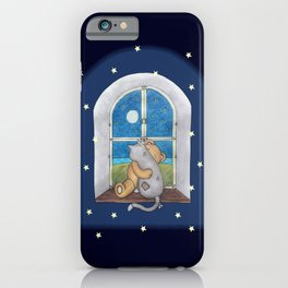 When the night falls iPhone Case
