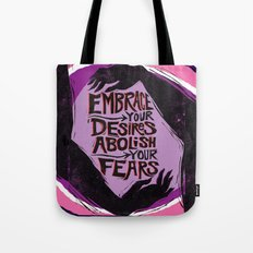 Embrace Your Desires Tote Bag