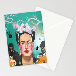 Frida Mural Painting Stationery Cards