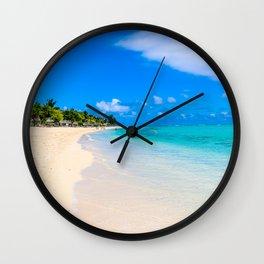 Paradise Walk Wall Clock