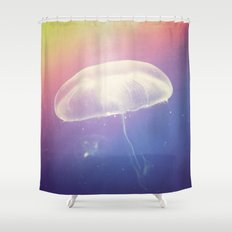 Microcosm. Shower Curtain
