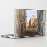 vienna Laptop & iPad Skins featuring Nostalgia in Vienna by Vargamari