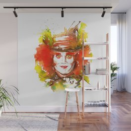 Mad Hatter Wall Mural