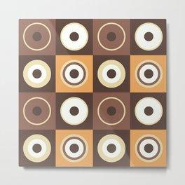 Cafés crème Metal Print