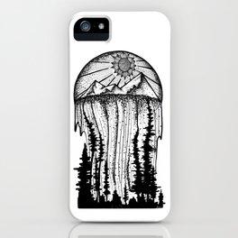 Mountain & Waterfall Landscape iPhone Case