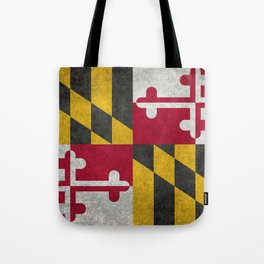 Maryland State flag - Vintage retro style Tote Bag