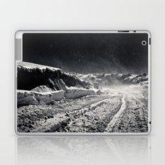 B&W Snow Background Laptop & iPad Skin