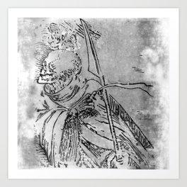Ankou Art Print