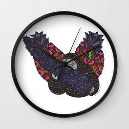 Boldness (Botanical Bliss) Wall Clock