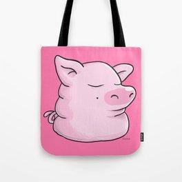 Piggy Catbear Tote Bag
