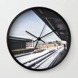J Train Wall Clock