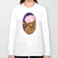 peony Long Sleeve T-shirts featuring Peony by Vargamari