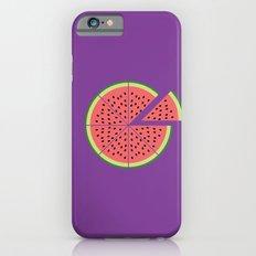 Watermelon Pizza Slim Case iPhone 6s