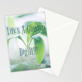Lifes A Garden Plant Mom Stationery Cards