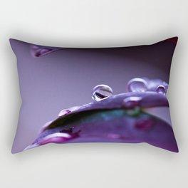 Dichroic Drops Rectangular Pillow