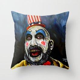 captain Spaulding Throw Pillow