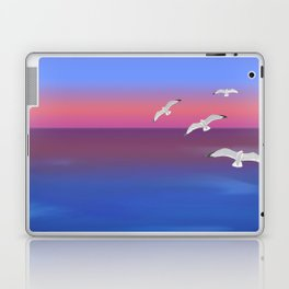 Where the ocean meets the sky Laptop & iPad Skin