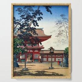 Tsuchiya Koitsu - HAKOZAKI Temple Serving Tray