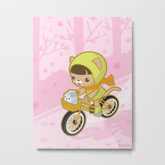 Blossom Ride Metal Print