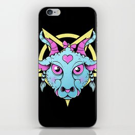 Cute Satanic iPhone Skin