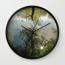 Mystical Mirror Wall Clock