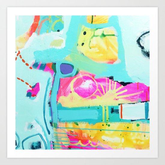 flower b Art Print