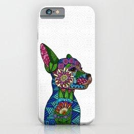 Folk Art Puppy iPhone Case