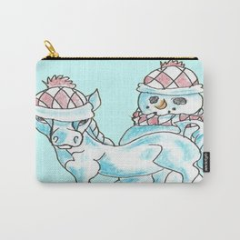 Frosty Photo Bomb Carry-All Pouch