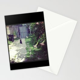 Chats Noirs, New Orleans kitties Stationery Cards