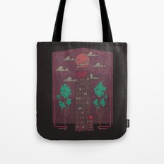 The Towering Bed and Breakfast of Unparalleled Hospitality Tote Bag