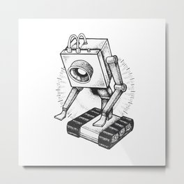 Rick Morty / What is my purpose? You Pass Butter Metal Print