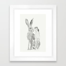 A Bigger World Framed Art Print