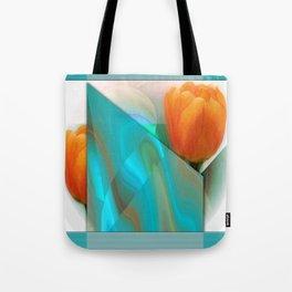 Tulip Sunrise Tote Bag