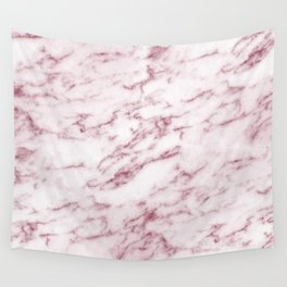 Contento rosa pink marble Wall Tapestry