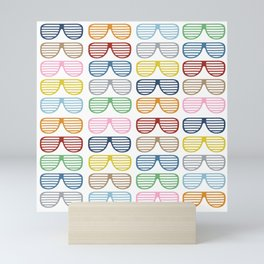 Rainbow Shades Mini Art Print