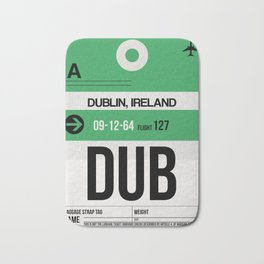DUB Dublin Luggage Tag 1 Bath Mat