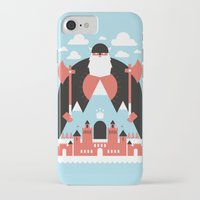 king iPhone & iPod Cases featuring King of the Mountain by Chase Kunz