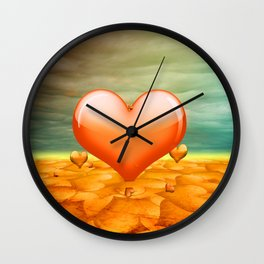 Heartrain Wall Clock