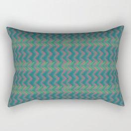 Tribal Green Rectangular Pillow