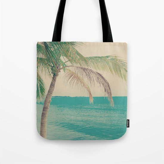 Coco Palm in the Beach  Tote Bag
