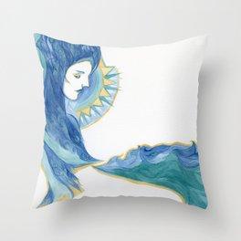 Ocean Overlook Throw Pillow