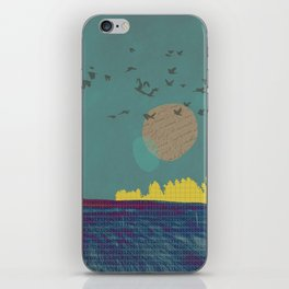 Go placidly iPhone Skin