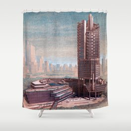The Concourse, Beach Road, Singapore Shower Curtain