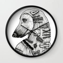 J'adore hairpins Wall Clock
