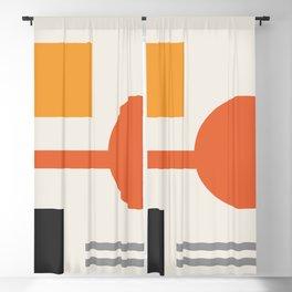 Mid Century 06 Blackout Curtain